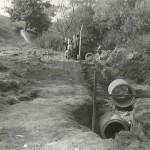 1950-59: Přehrada - výstavba