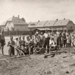 1935: Házená - hřiště na Svobodě