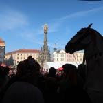 Masopust Olomouc 16.2.2019 obchůzka