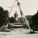1923: stavba památníku TGM