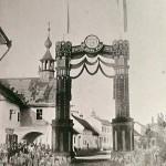 1880 (15.6.): Slavobrána při návštěvě kardinála Furstenberga
