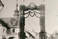 Historické foto Velké Bystřice