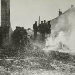 1944: Palírna po vypálení