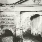 1920-29: Zámek - původní brána