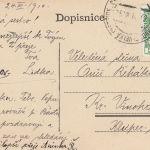 1910: Pohlednice - 000270a