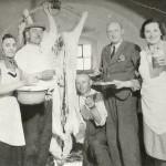 1944: Zabijačka na faře