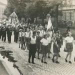 1946: Sokolové průvod
